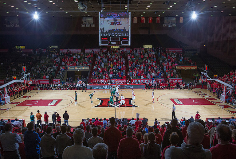 Like Many Other Teams On This List The Redhawks Court Underwent Renovations In 2017 New Arena Includes Red Seats A Much Needed Update From