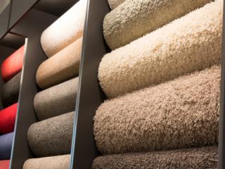 Carpet roll samples