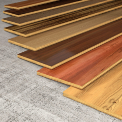 hardwood floor plank selections